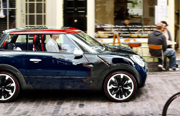 Mini Cooper Rocketman — концепт-кар 2011 года