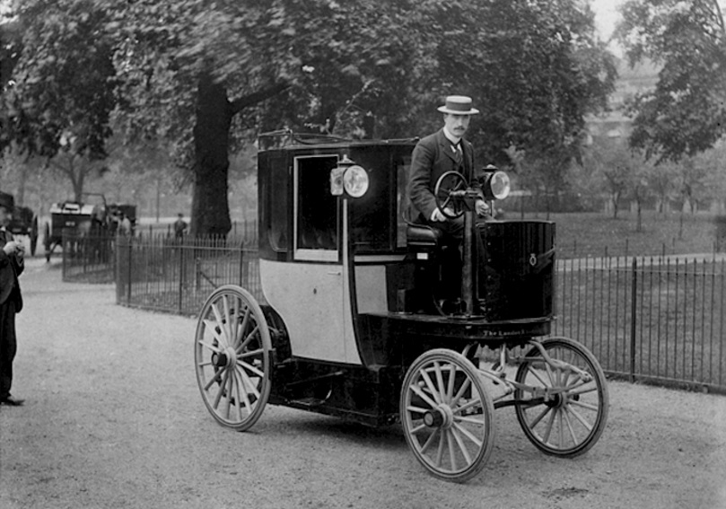 Bersey Electric Taxi (1897)